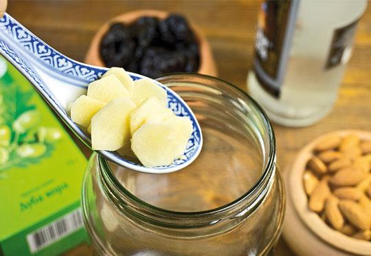 Как сделать настойку из имбиря с лимоном